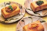 豆腐ステーキ(バターソース3種)