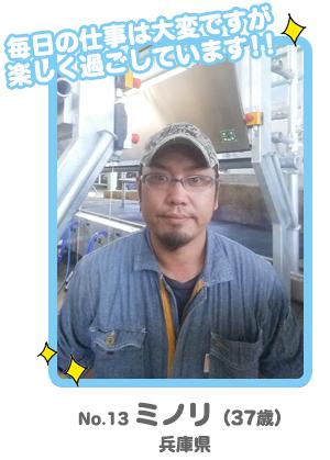 No.13 みのり「男前酪農家コンテスト」