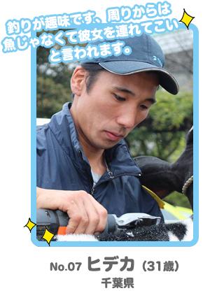 No.7 ヒデカ「酪農男前コンテスト」