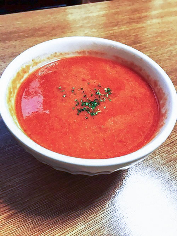 冷製トマトクリーミースープ