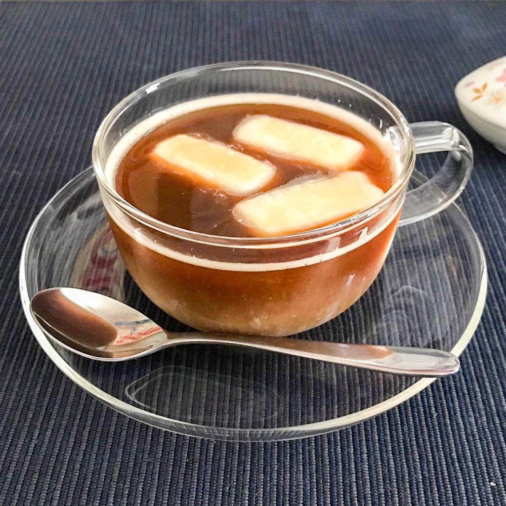 ほっと一息ミルク氷のアイスコーヒー