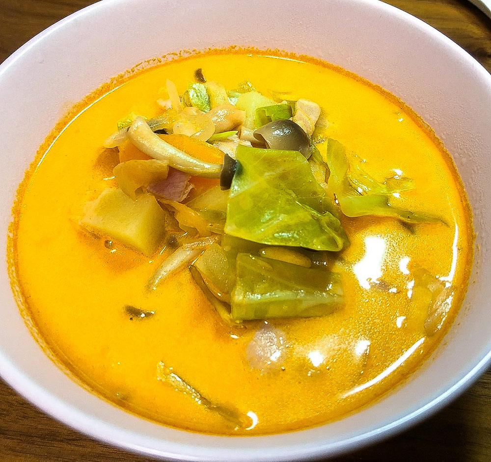 野菜たっぷり!トマトミルクスープ