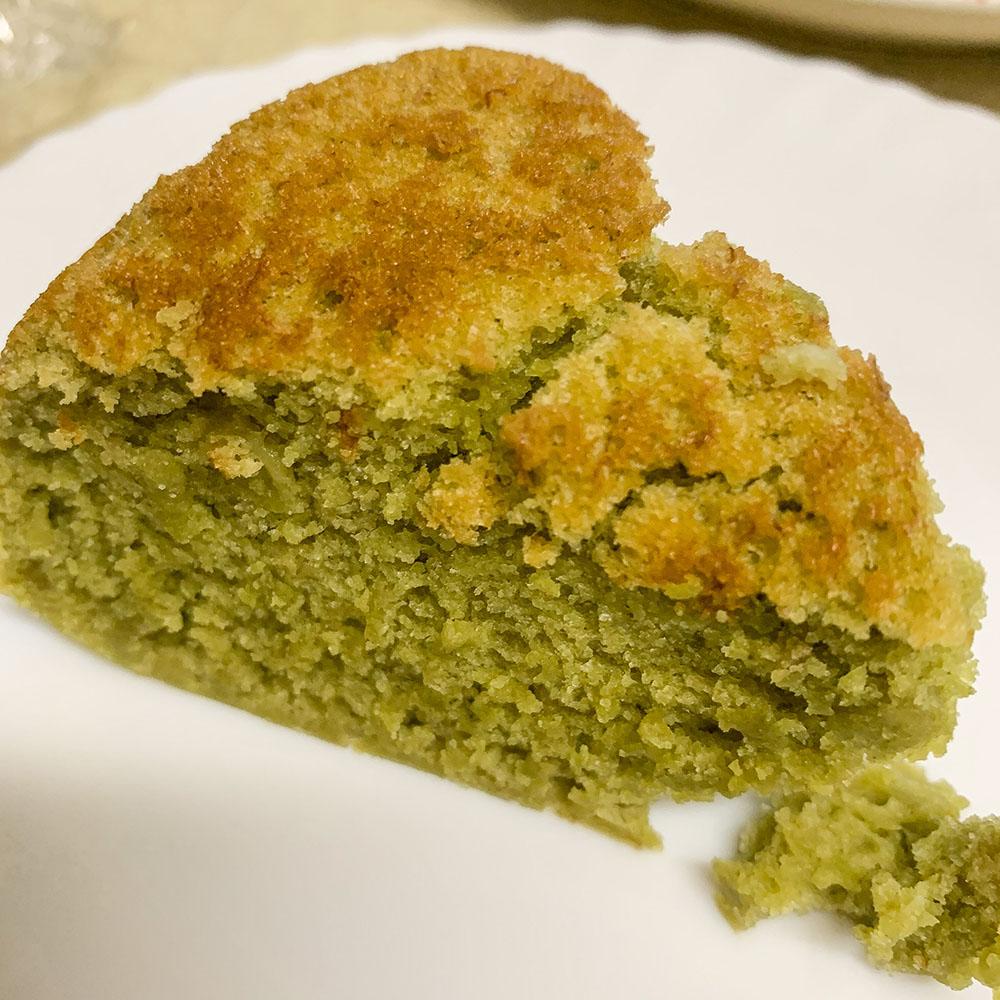 炊飯器で簡単、抹茶ミルクケーキ
